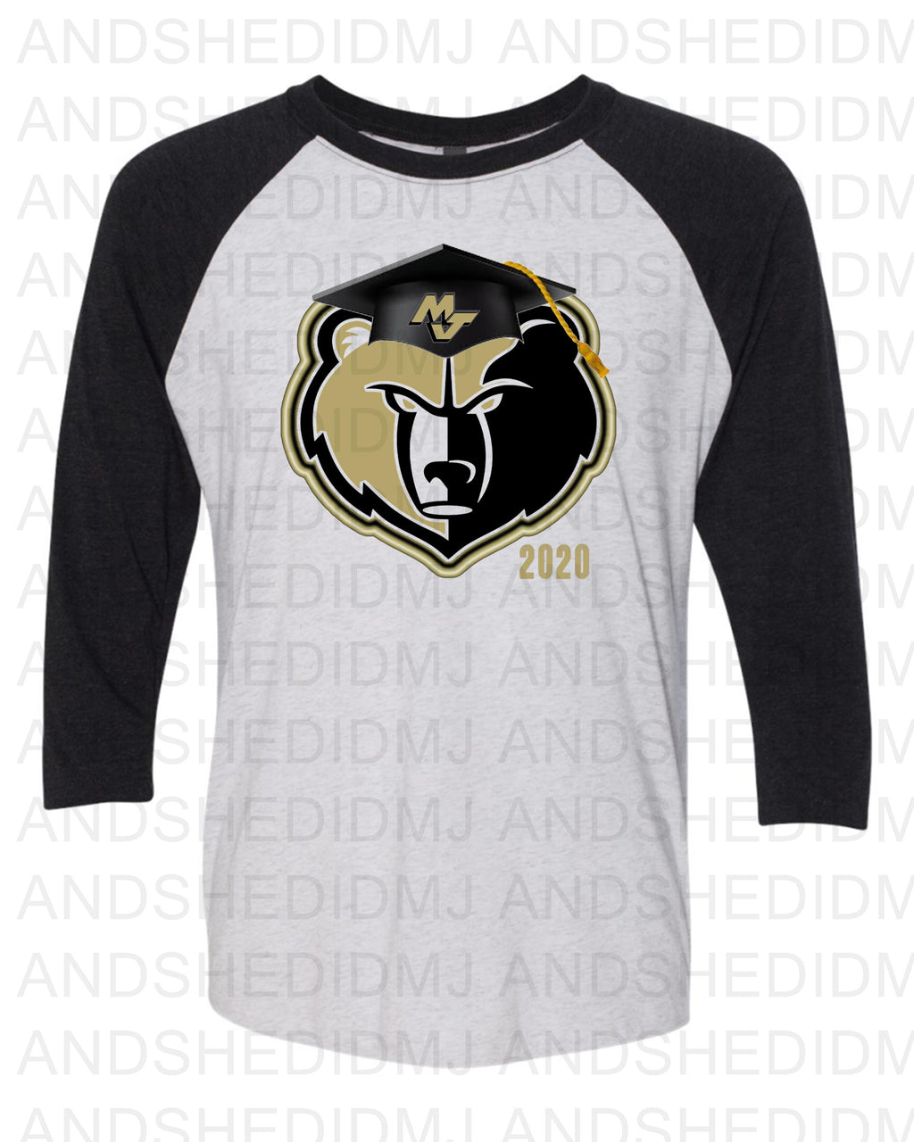 MJ Senior Tee- RAGLAN