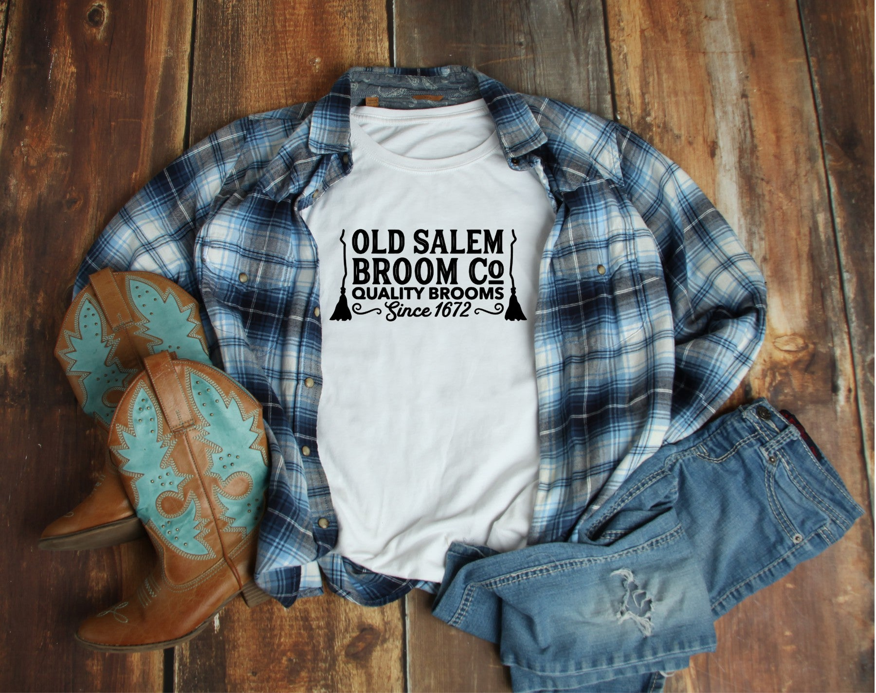Old Salem - Short Sleeve Tee