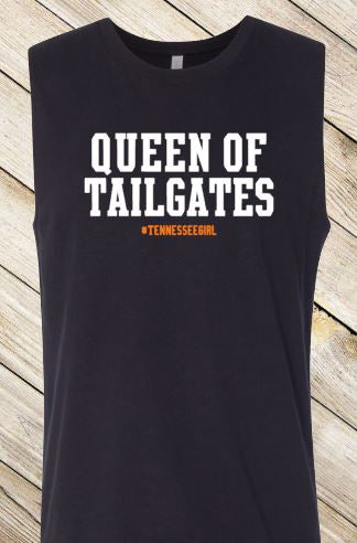 Queen of Tailgates - Tennessee (Women's Muscle Tank)