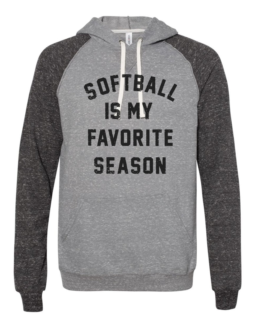Softball Is My Favorite Season - Hoodie