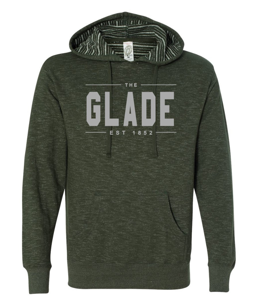The Glade Hoodie-Green