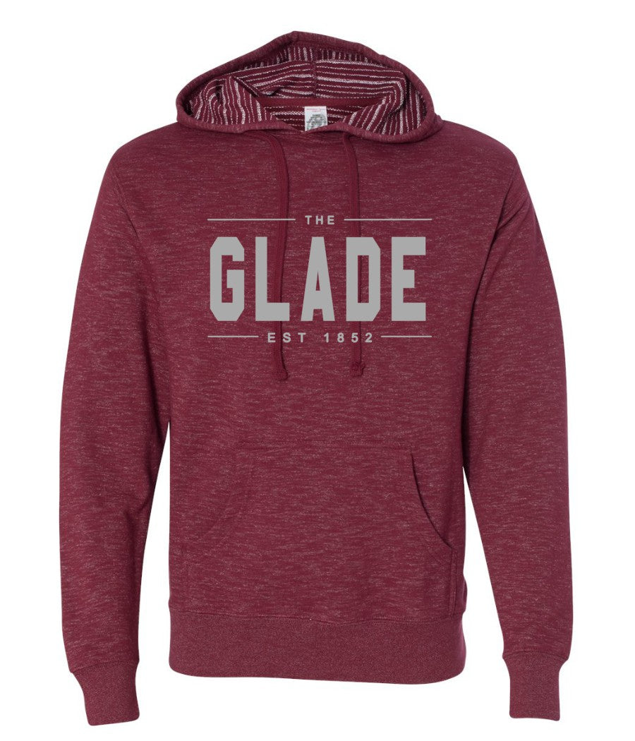 The Glade Hoodie-Red
