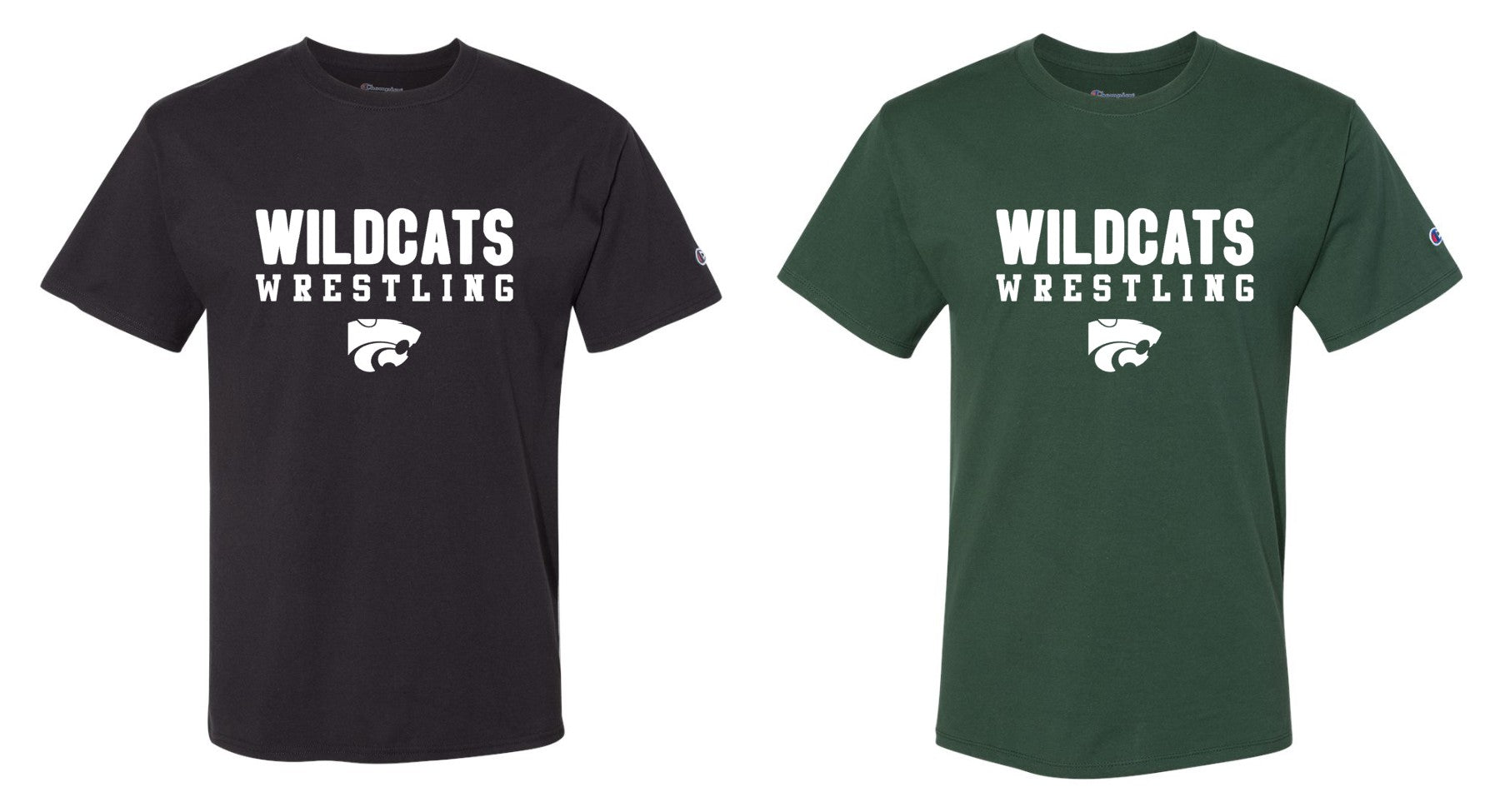 Champion Wildcats Wrestling Tee C