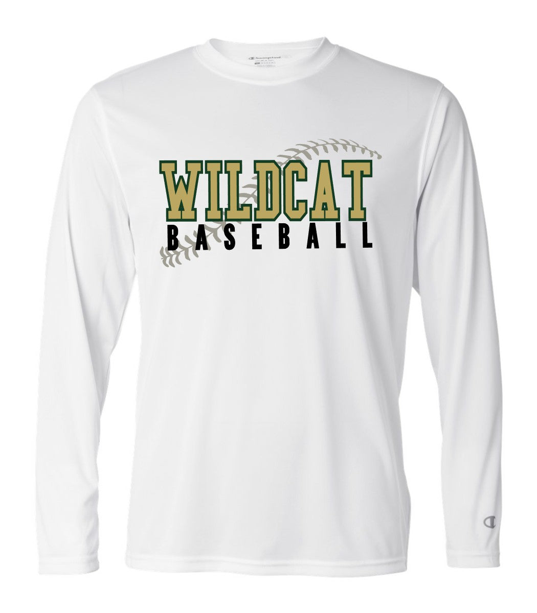 Wildcat Baseball Seams - Performance Long Sleeve