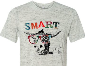 Colorful Smart Donkey Tee