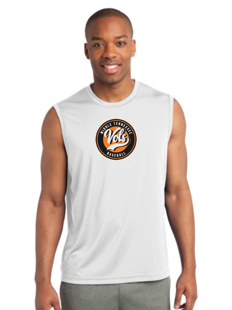 Men's Performance Sleeveless- Circle