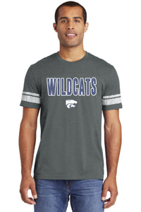 Wildcats - BLUE/WHITE - District Game Tee