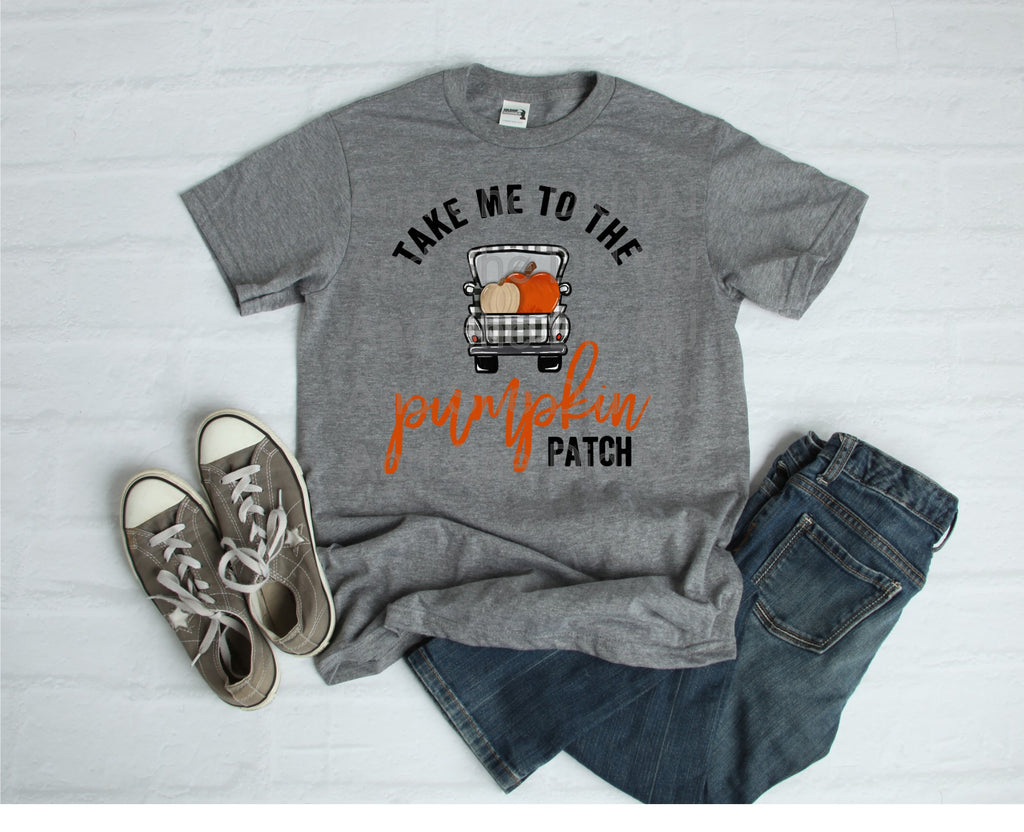 Take Me To The Pumpkin Patch Short Sleeve