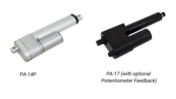 Photo of linear actuators by Progressive Automations