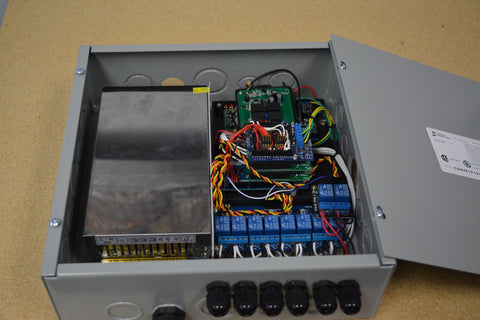 Photo of the prototype system for automated Phantom BBQ