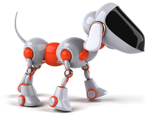 Photo of robot-companion that look like dog