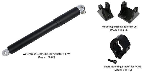 Waterproof electric linear actuator IP68M (Model: PA-6)