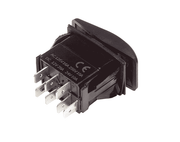 Rocker Switch - Momentary/Non-Momentary - 20A - IP68