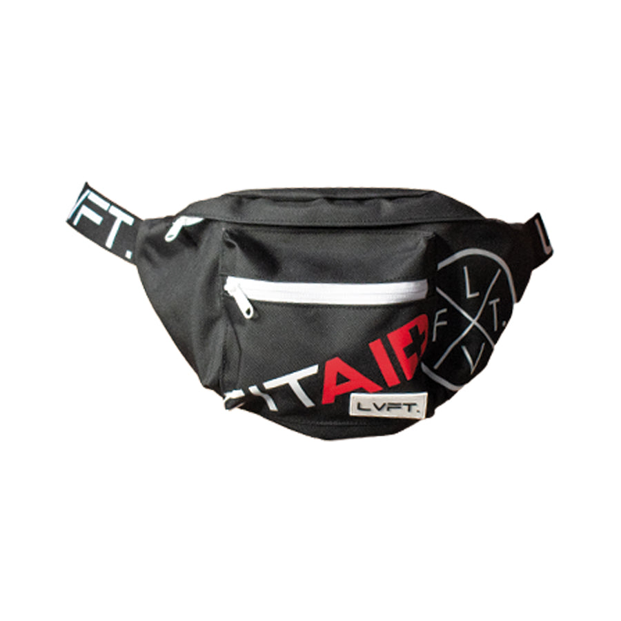 LVFT Capsule Waist Pack Fit Aid - Black