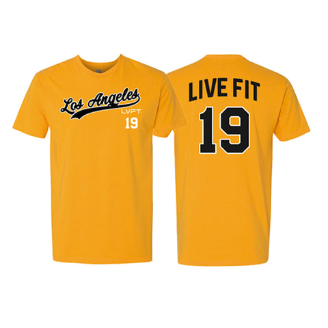 Los Angeles Tee - Gold