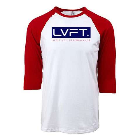 Raglan - Red/White