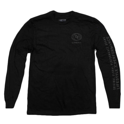LF Roman Long Sleeve - Black