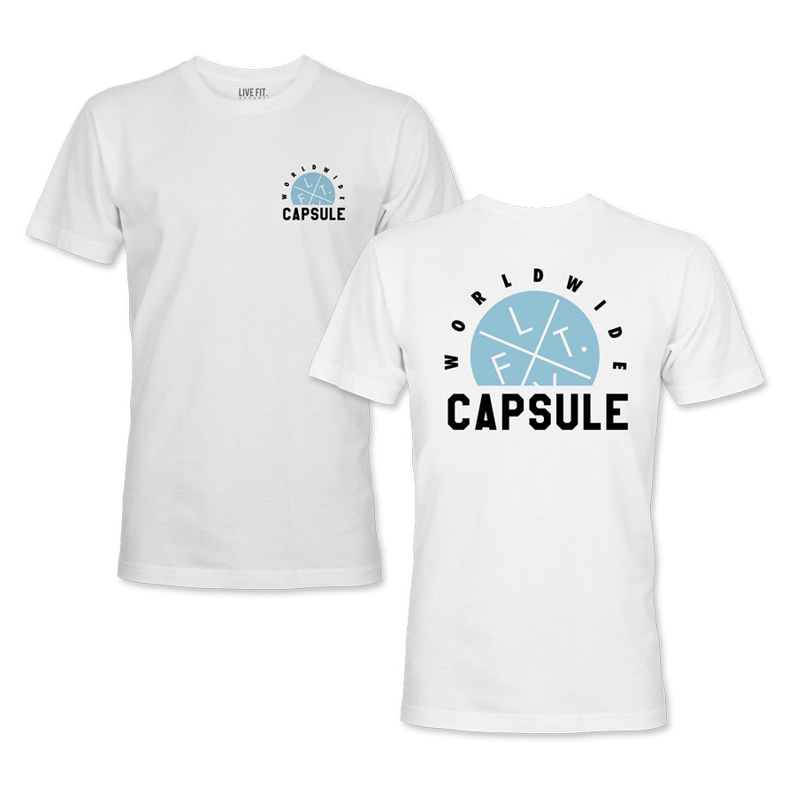 Worldwide Capsule Tee - White