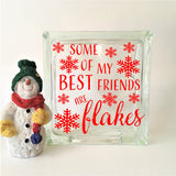 Some of my Best Friends are Flakes Decal