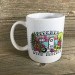 Bitches with Hitches Camping Coffee Mug