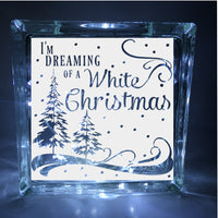 I'm Dreaming of a White Christmas Decal