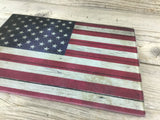 American Flag Cutting Board