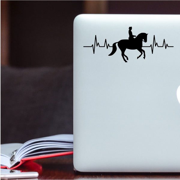 Horse Dressage Decal