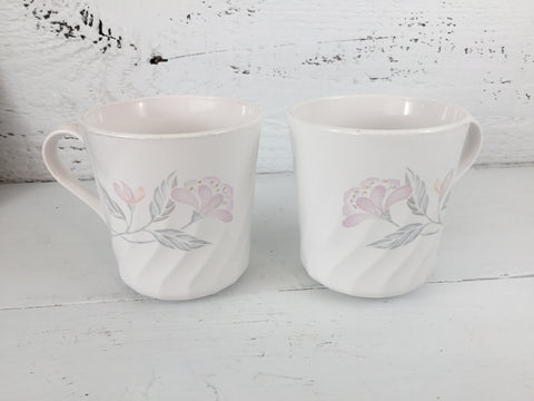 Corelle Pink Trio Cups