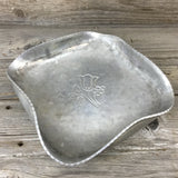 Vintage BUENILUM Hand Wrought Aluminum Hammered Candy Bowl
