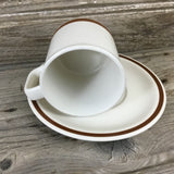 The Woodhaven Collection SunnyBrook Cup and Saucer Set - Set of 2