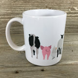 Farm Animal Butts Coffee Mug