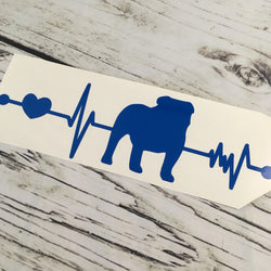 Bulldog Lifeline Decal