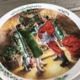 Royal Doulton Christmas Plate Dad Plays Santa 1991