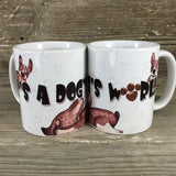 It's a Dog's World 11 oz Coffee Mug