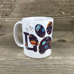 Love is Being a Dog Mom 11 oz Coffee Mug