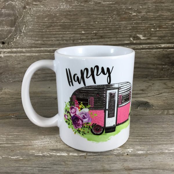Happy Camper 11 oz. Coffee Mug