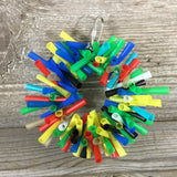 Small Silly Sid Straw Wreath