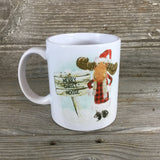 Merry Christ-Moose Coffee Mug