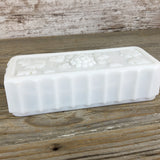Vintage Clear Glass Cruet Set