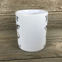 I Licked it So It's Mine Cow Coffee Mug 11 oz
