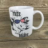 Land of the Free because of the Brave Cow