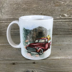 Vintage Truck Fall Pumpkin Farm 11 oz Coffee Mug