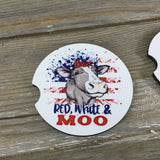 Red, White & Moo