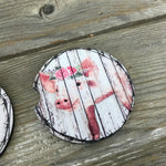Rustic Pig Car Coasters