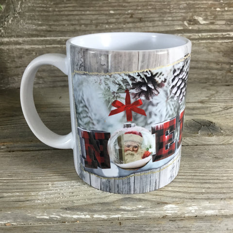 Noel Christmas Coffee Mug 11 oz