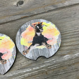 Goat Car Coasters