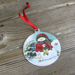 Snowman and Friends Christmas Tree Ornament