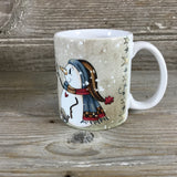 Snowman Friends Coffee Mug