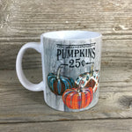 Pumpkins 25 cents Mug