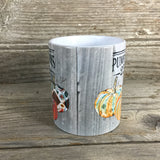 25 cent Pumpkins Mug 11 oz